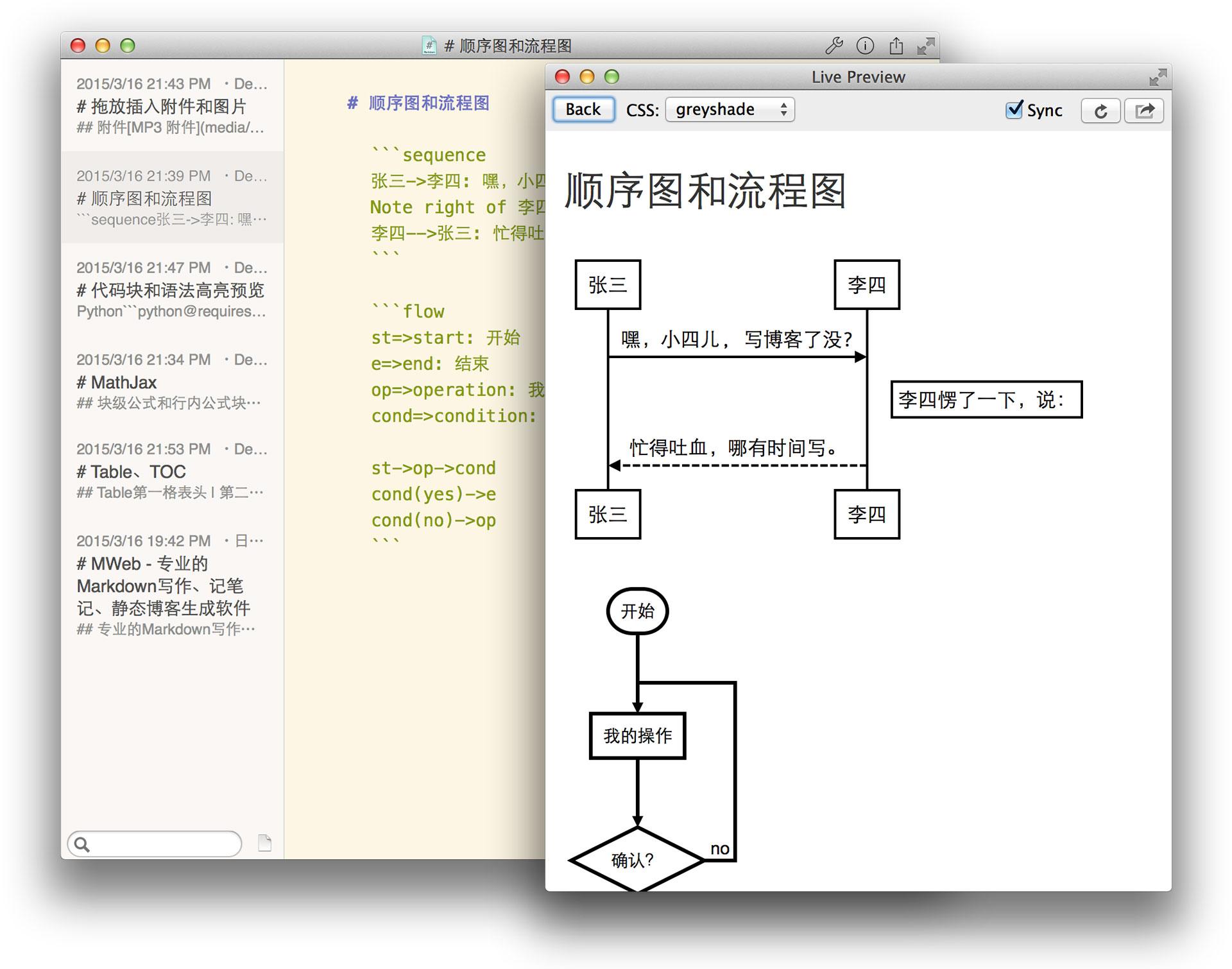顺序图和流程图